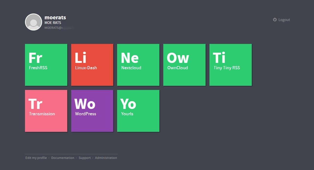 一个可以自动安装多网站程序的面板 :YunoHost安装教程
